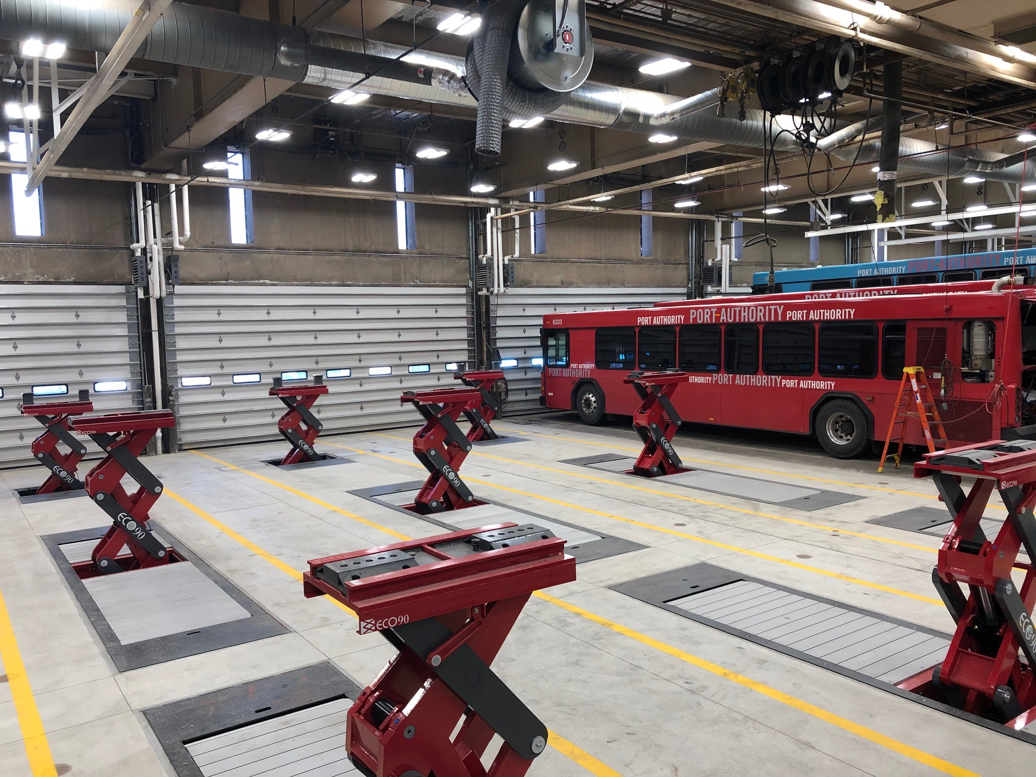 Port Authority of Allegheny County Collier & Manchester Bus Garage Improvements